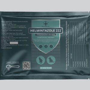 HELMINTAZOLE 222 mg Fenbendazole mini